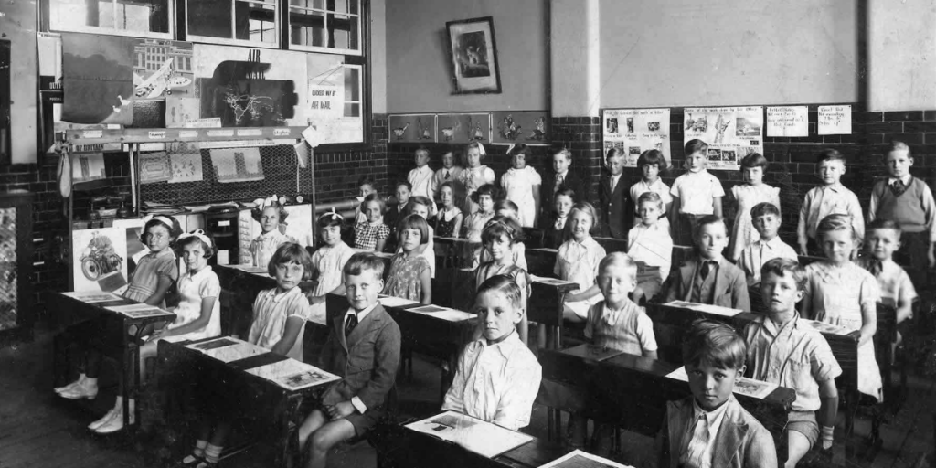 School from the 30's